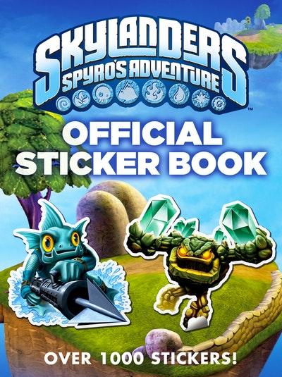 Skylanders Spyro's Adventure: Official Sticker Book