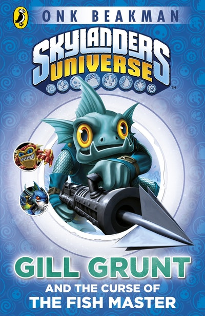 Book Cover:  Skylanders Mask of Power: Gill Grunt and the Curse of the Fish Master   Book 2