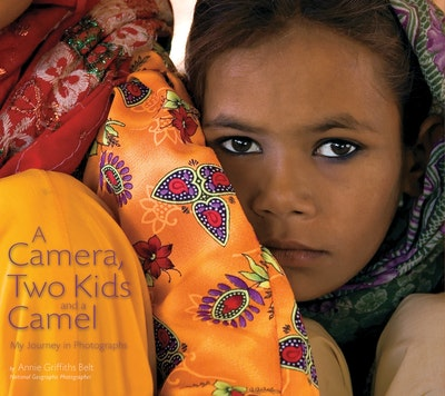 A Camera, Two Kids, And A Camel