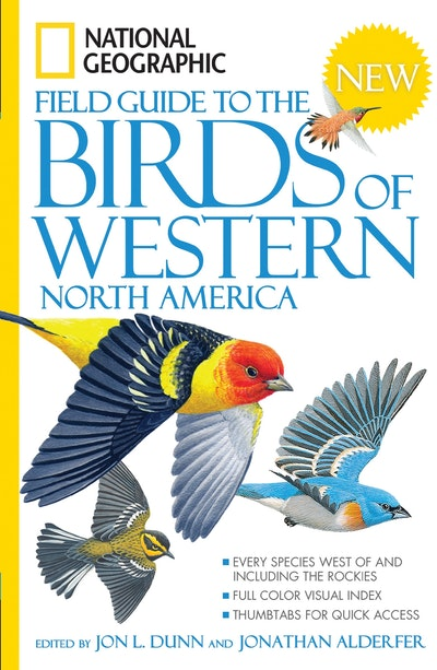 National Geographic Field Guide To The Birds Of Western North Ame