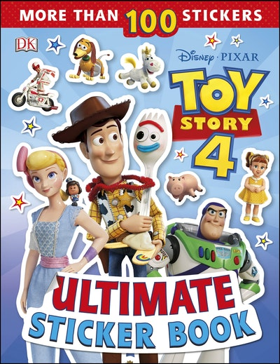 Disney Pixar Toy Story 4 Ultimate Sticker Book