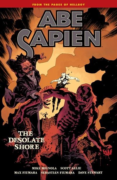 Abe Sapien Volume 8 The Desolate Shore