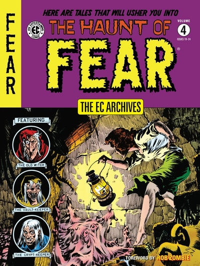 The Ec Archives The Haunt Of Fear Volume 4