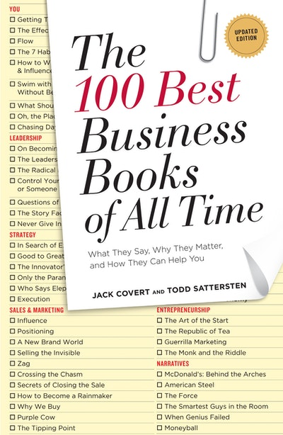 Book Cover:  100 Best Business Books Of All Time, The