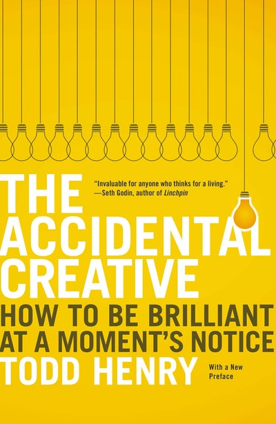 Book Cover:  Accidental Creative, Thee, The