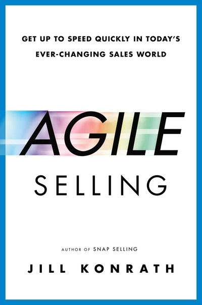 Book Cover:  Agile Sellinging Sales World