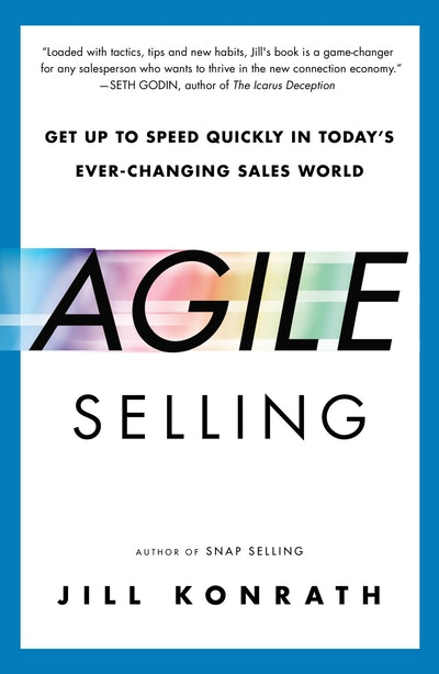 Book Cover:  Agile Sellingging Sales World