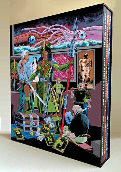 The League Of Extraordinary Gentlemen Nemo Trilogy (Slipcase Edition)