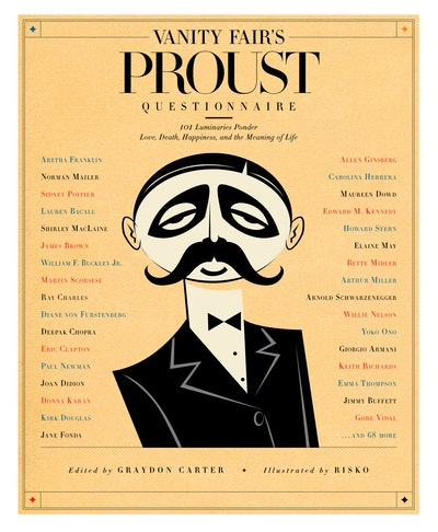 Vanity Fair's Proust Questionnaire