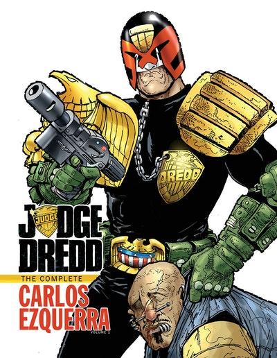 Judge Dredd The Complete Carlos Ezquerra Volume 1