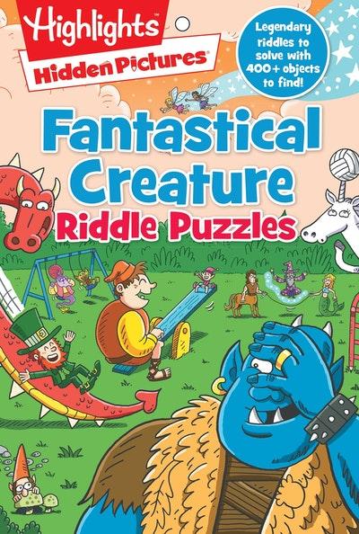 Fantastical Creature Riddle Puzzles