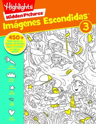 Hidden Pictures® Imágenes Escondidas(Tm) 3