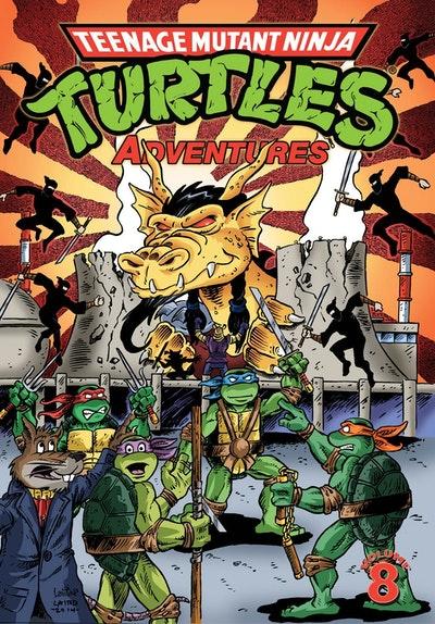Teenage Mutant Ninja Turtles Adventures Volume 8