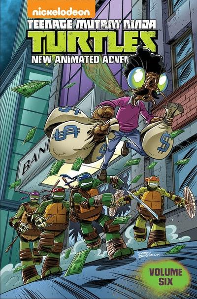 Teenage Mutant Ninja Turtles New Animated Adventures Volume 6