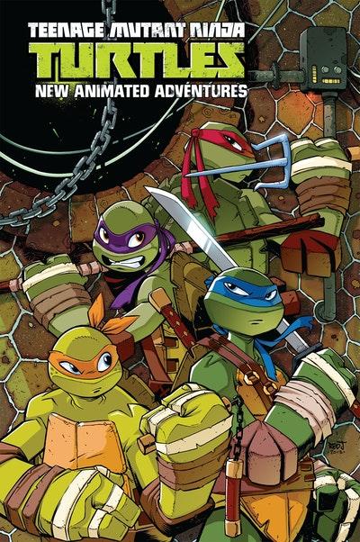 Teenage Mutant Ninja Turtles New Animated Adventures Omnibus Volume 1