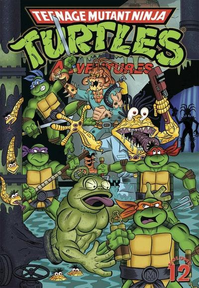 Teenage Mutant Ninja Turtles Adventures Volume 12