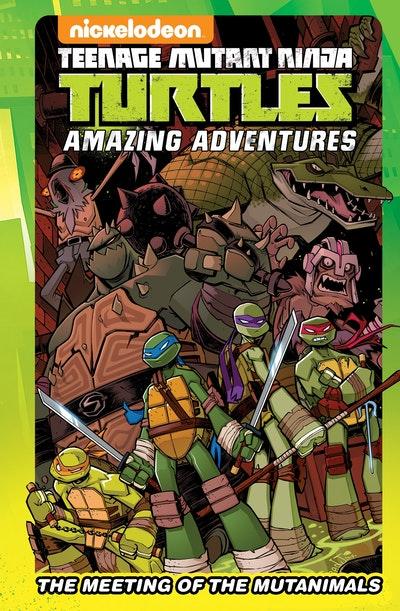 Teenage Mutant Ninja Turtles Amazing Adventures The Meeting Of The Mutanimals