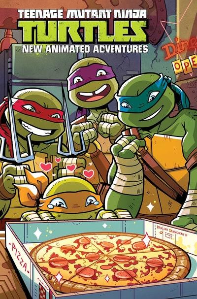 Teenage Mutant Ninja Turtles New Animated Adventures Omnibus Volume 2