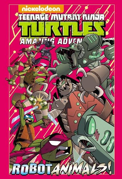 Teenage Mutant Ninja Turtles Amazing Adventures Robotanimals!