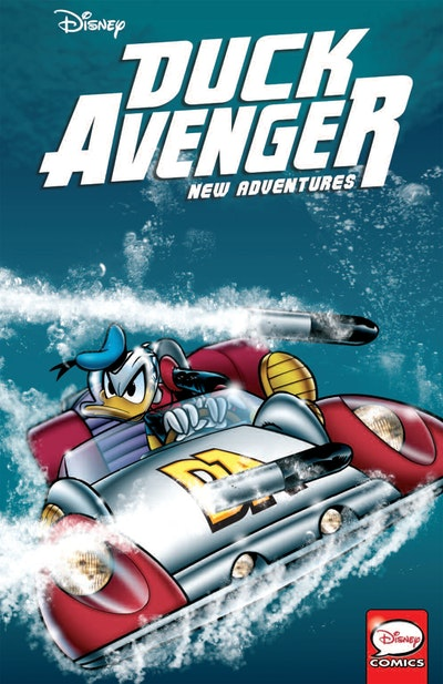 Duck Avenger New Adventures, Book 3