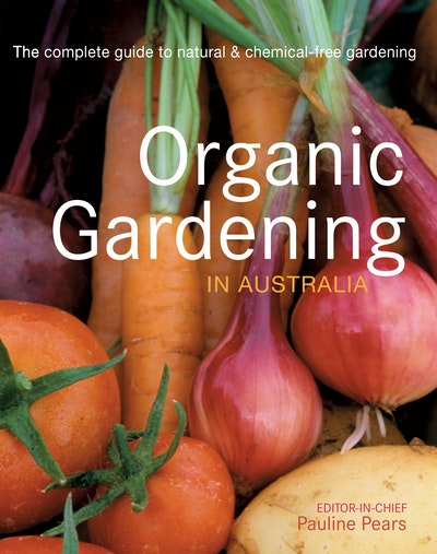 Book Cover:  Organic Gardening in Australia