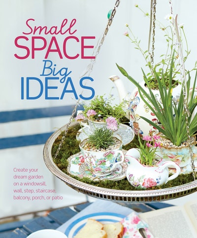 Book Cover:  Small Space Big Ideas