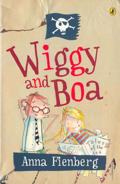 Book Cover:  Wiggy and Boa