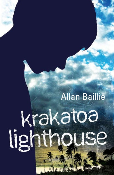 Book Cover:  Krakatoa Lighthouse