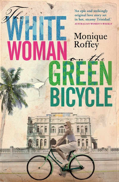Book Cover:  White Woman on the Green Bicycle