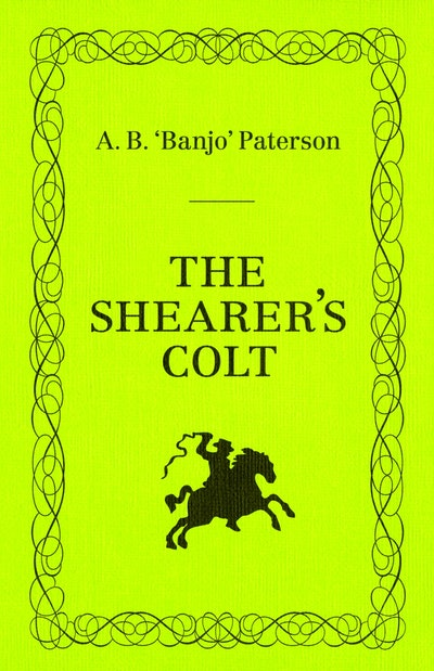 Book Cover: The Shearer's Colt