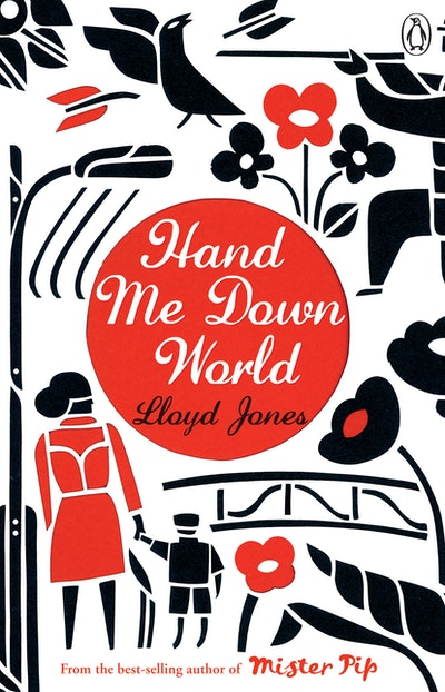 Book Cover:  Hand Me Down World