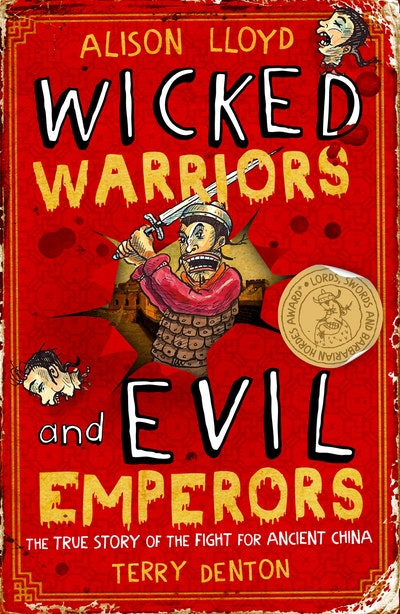 Book Cover:  Wicked Warriors & Evil Emperors