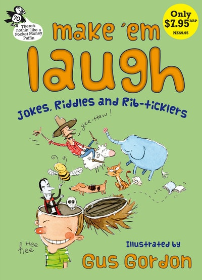 Book Cover:  Make 'Em Laugh: Pocket Money Puffin