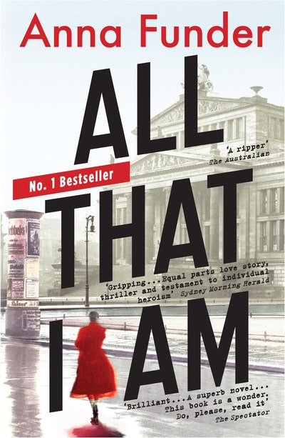 Book Cover:  All That I Am