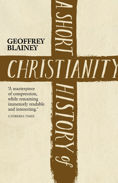 Book Cover: A Short History of Christianity