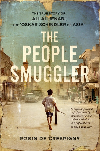 Book Cover:  People Smuggler: The True Story Of Ali Al Jenabi, The
