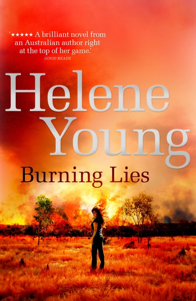 Book Cover:  Burning Lies