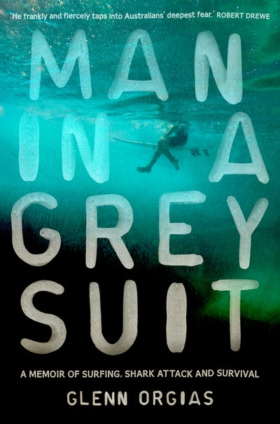 Book Cover:  Man in a Grey Suit