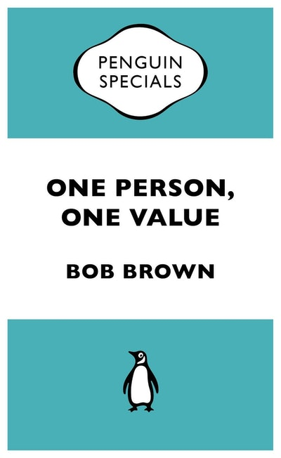 Book Cover:  One Person, One Value: Penguin Specials