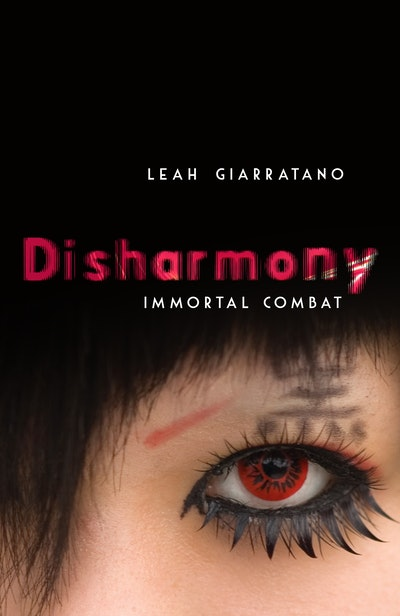 Book Cover:  Immortal Combat: Disharmony Book 3