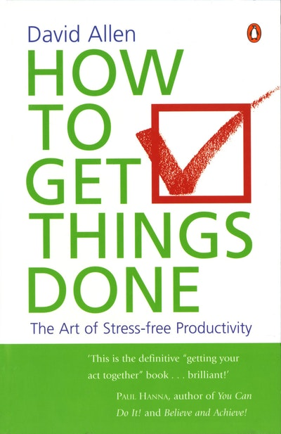 Book Cover:  How To Get Things Done
