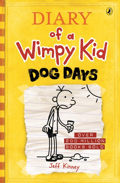Book Cover:  Dog Days: Diary of a Wimpy Kid
