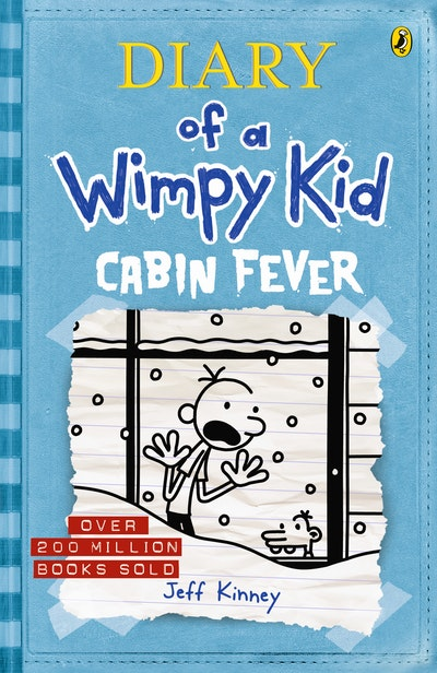 Book Cover:  Cabin Fever: Diary of a Wimpy Kid
