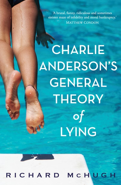 Book Cover:  Charlie Anderson's General Theory of Lying