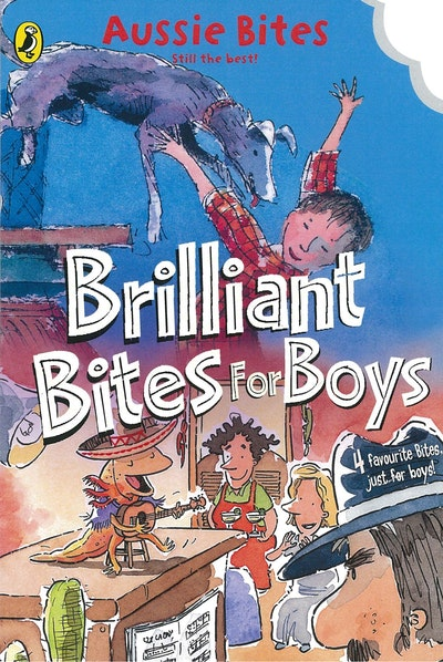 Book Cover:  Brilliant Bites for Boys