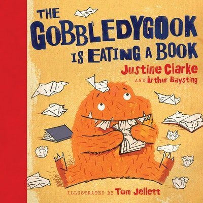 Book Cover: The Gobbledygook is Eating a Book