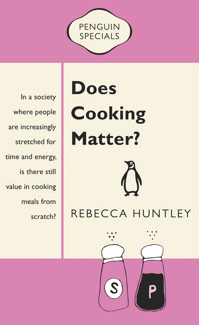 Book Cover:  Does Cooking Matter?: Penguin Special