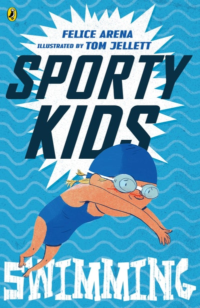 Book Cover:  Sporty Kids: Swimming!