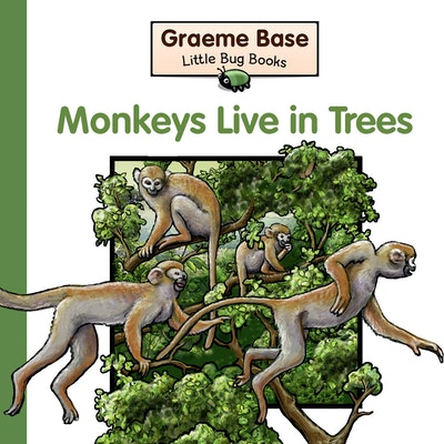 Book Cover:  Little Bug Books: Monkeys live in Trees