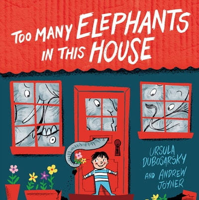 Book Cover:  Too Many Elephants in this House